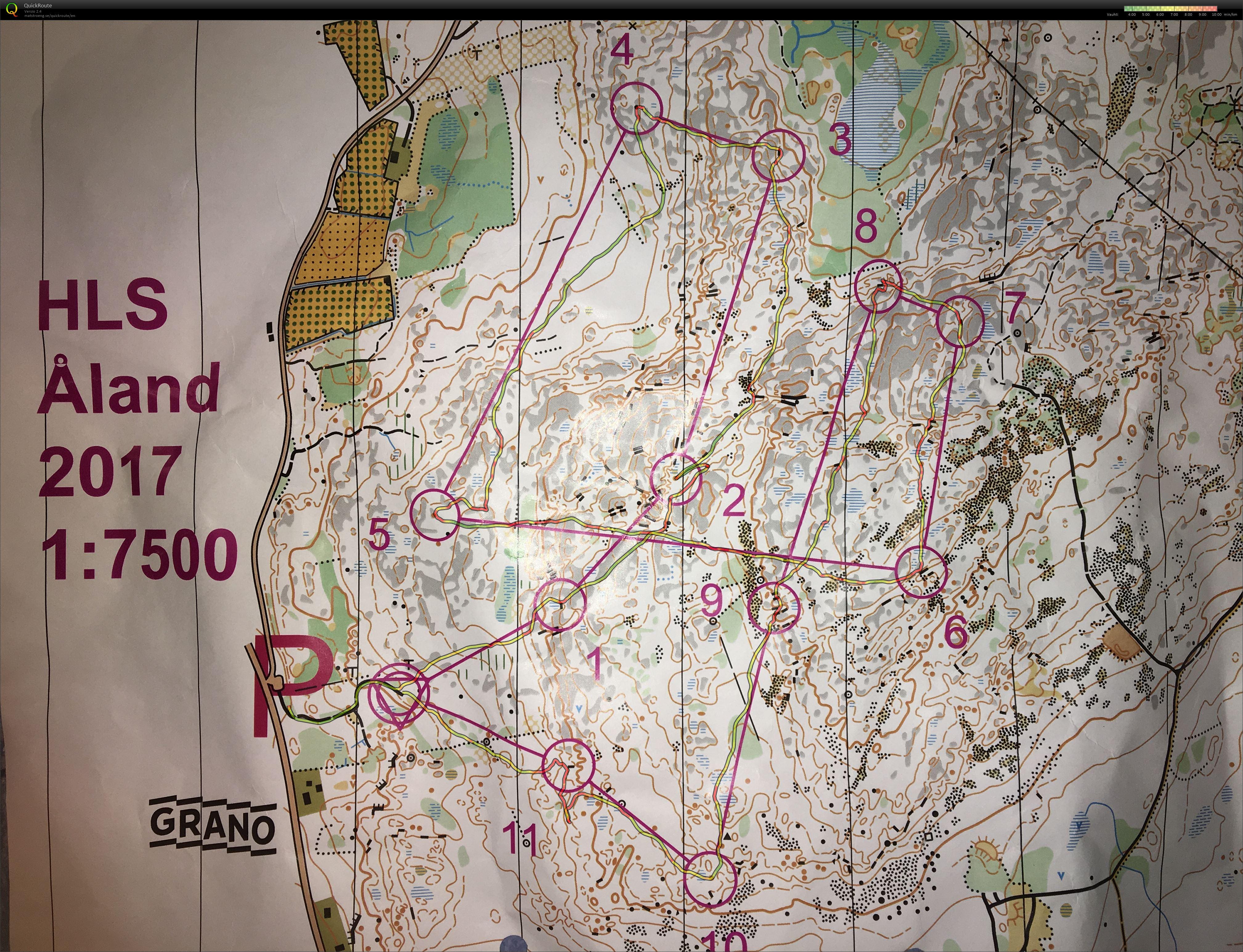 My Digital Orienteering Map Archive 1 7500 Kartta Ahvenanmaa 3